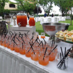 welcome bar γάμου catering